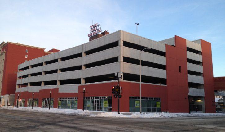 Pere Marquette Parking Garage